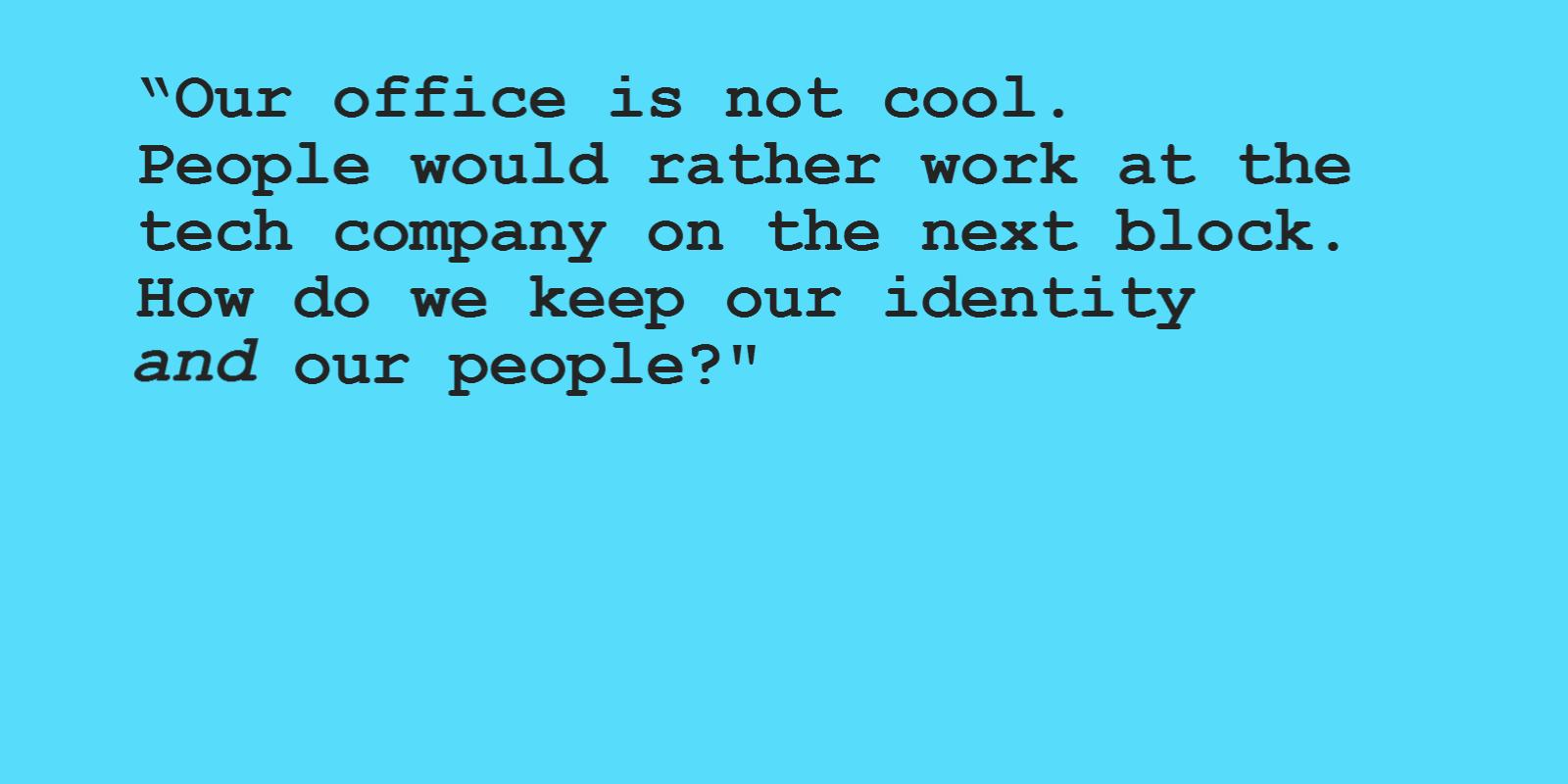 Image of Identity and personnel retention and how workplace strategies can help