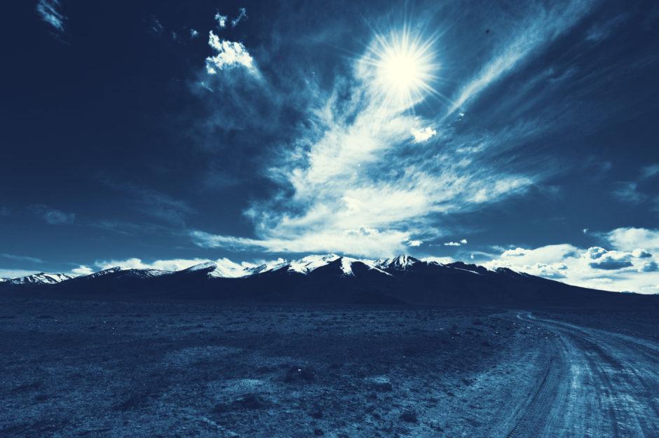 Photo of road to Bulunkul Lake, Tajikistan