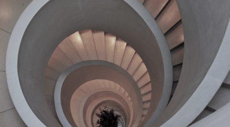 Photo of spiral staircase, Atlantis Hotel, Zurich