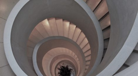 Photo of spiral staircase, Atlantis Hotel, Zurich